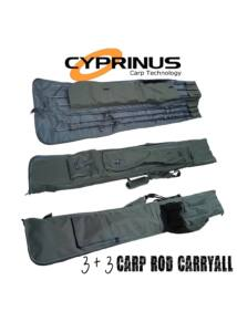 Cyprinus 12ft 3 + 3 Carp Rod