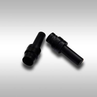 Fil Bankstick Adapter Leszúró Szetthez Alumínium Matt Fekete 2db