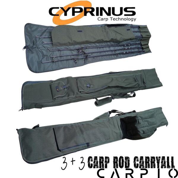 Cyprinus 12ft 3 + 3 Carp Rod